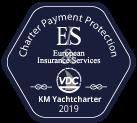 KM Yachtcharter Versicherung