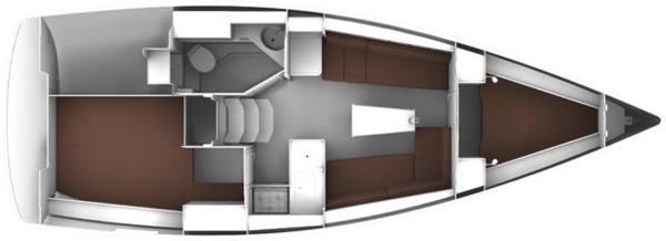 KM Yachtcharter Schiff