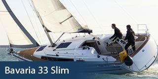 KM Yachtcharter Schiff Bavaria 33 Slim