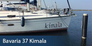 KM Yachtcharter Schiff Bavaria 37 Kimala
