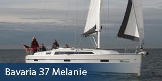 KM Yachtcharter Schiff Bavaria 37 Melanie