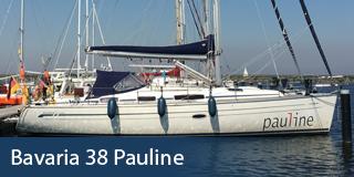 KM Yachtcharter Schiff Bavaria 38 Pauline
