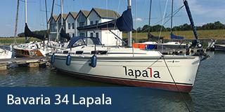 Bavaria 34 Lapala - KM Yachtcharter