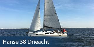 Hanse 38 Drieacht- KM Yachtcharter